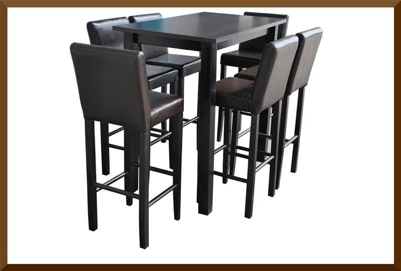 bartisch bistrotisch stehtisch gastro 80x80x110 buche massiv kolonial event. Black Bedroom Furniture Sets. Home Design Ideas